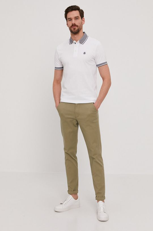 Selected - Polo biały