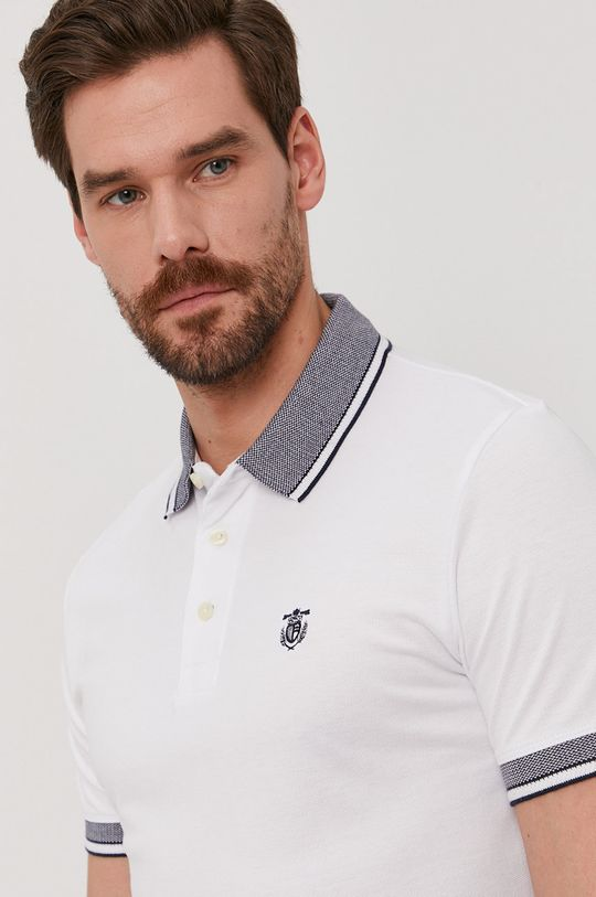 biały Selected - Polo