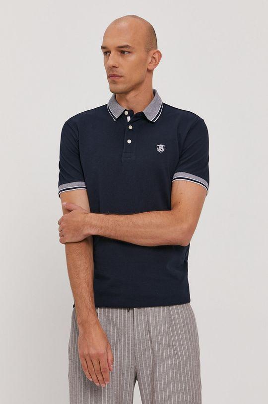 námořnická modř Selected - Polo tričko Pánský
