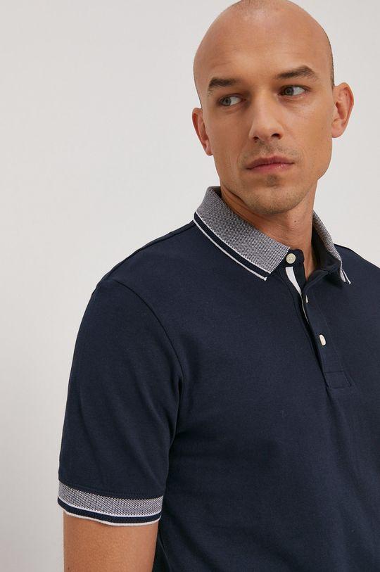 námořnická modř Selected - Polo tričko