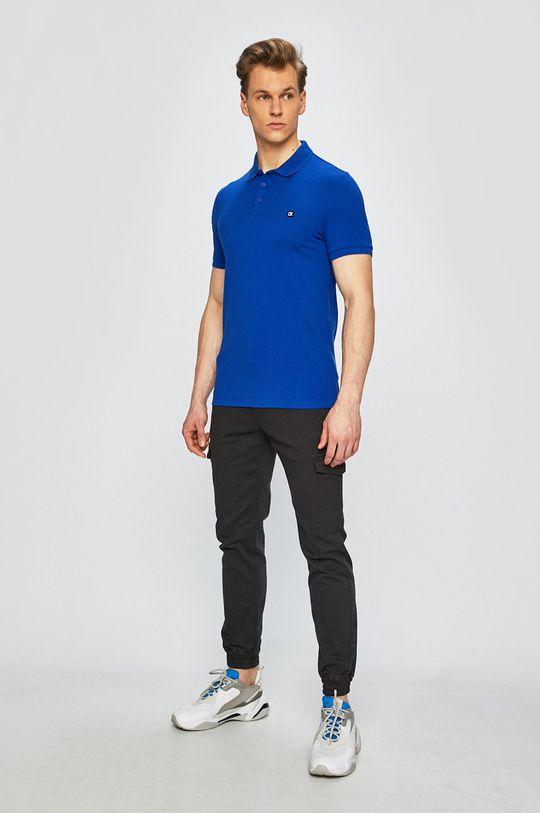 Calvin Klein Jeans - Polo tričko modrá