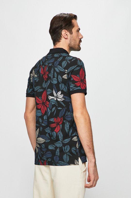 čierna Produkt by Jack & Jones - Pánske polo tričko
