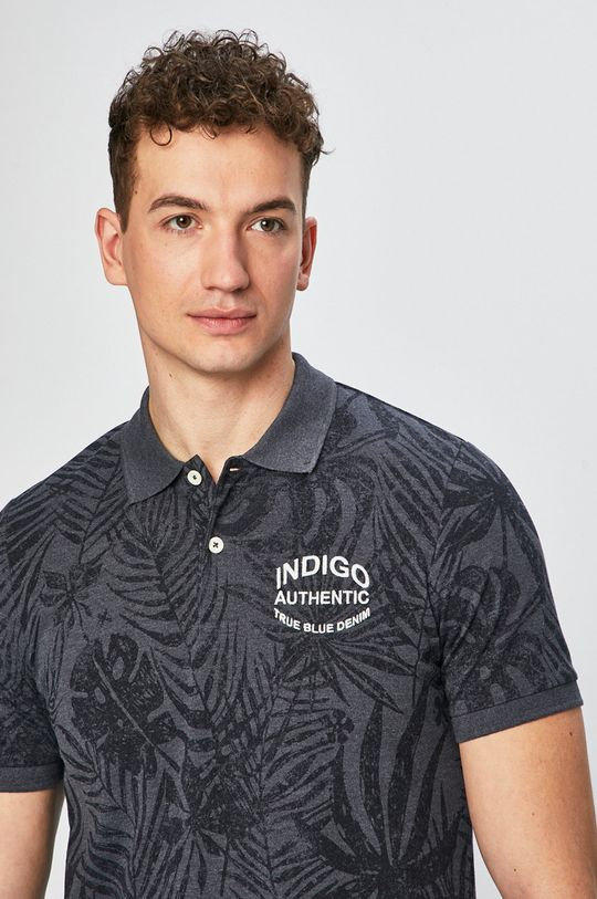 tmavomodrá Produkt by Jack & Jones - Pánske polo tričko