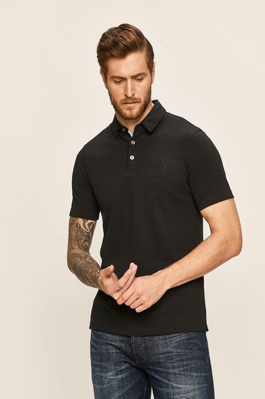 tmavomodrá Armani Exchange - Pánske polo tričko