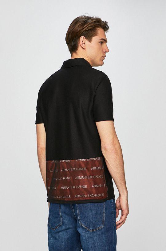 Armani Exchange - Pánske polo tričko <p>Základná látka: 36% Bavlna, 64% Polyester</p>