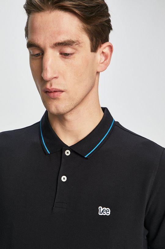 Lee - Polo tričko černá