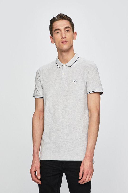 šedá Lee - Polo tričko Pánský