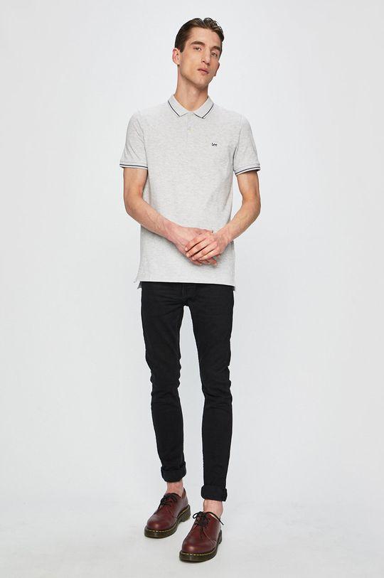 Lee - Polo tričko šedá