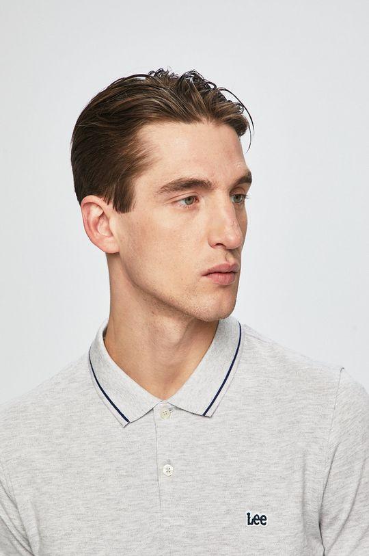 šedá Lee - Polo tričko