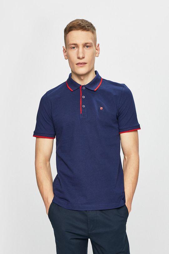 námořnická modř Pierre Cardin - Polo tričko Pánský