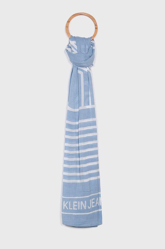 světle modrá Calvin Klein Jeans - Šála Dámský