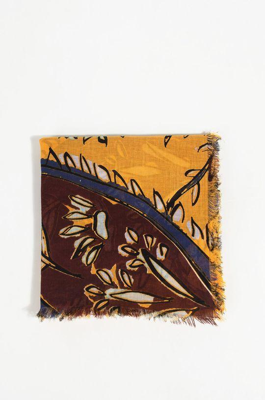 žlutá Parfois - Šátek Dámský