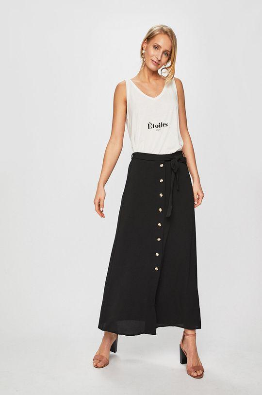 Vero Moda - Szoknya Ancle Skirt fekete