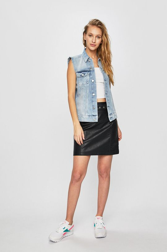 Pepe Jeans - Szoknya Lulu fekete