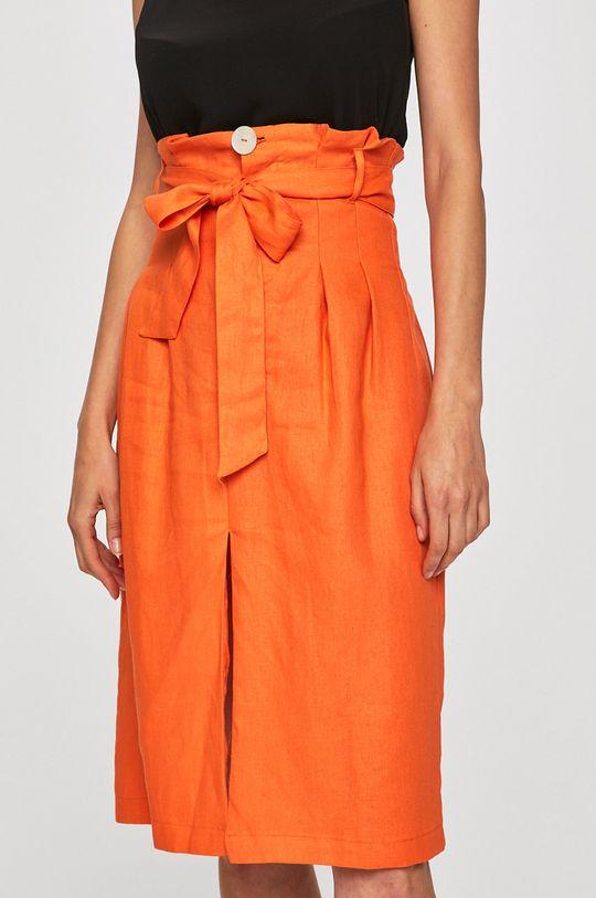 portocaliu Glamorous - Fusta De femei