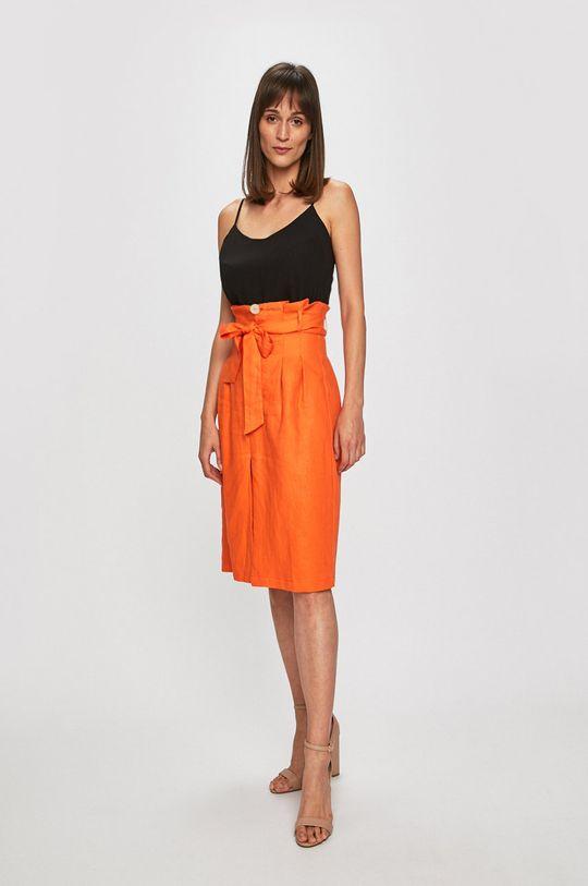Glamorous - Fusta portocaliu