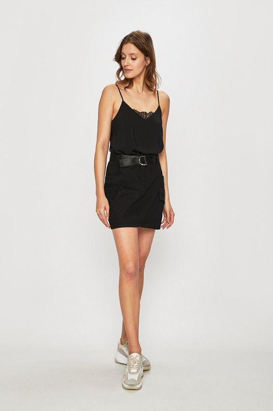 Only - Džínová sukně černá