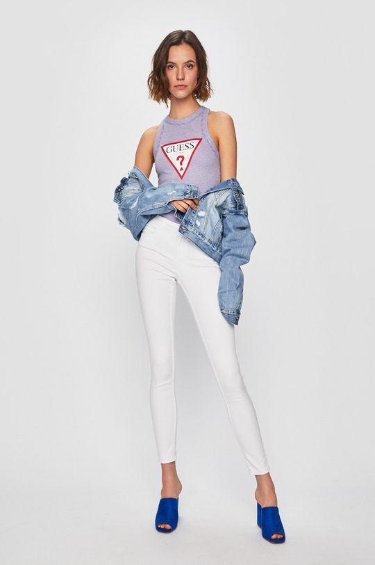 Vero Moda - Džíny Seven bílá