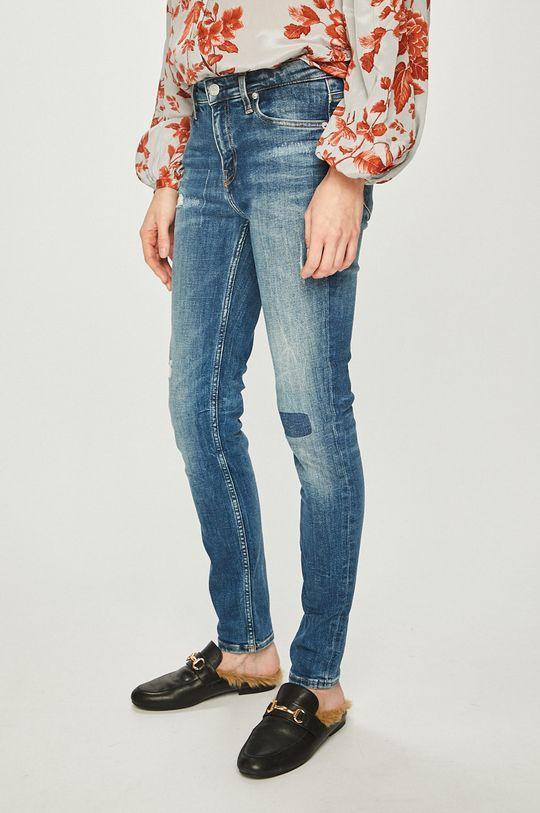 modrá Calvin Klein Jeans - Džíny Dámský