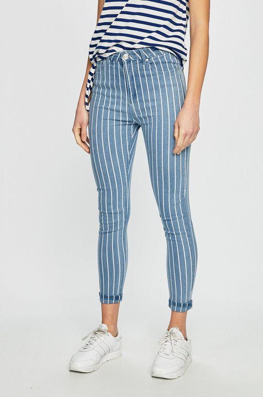 albastru deschis Haily's - Jeansi Stripe De femei