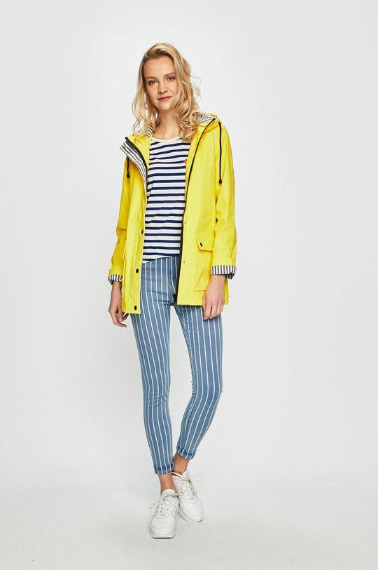 Haily's - Jeansi Stripe albastru deschis