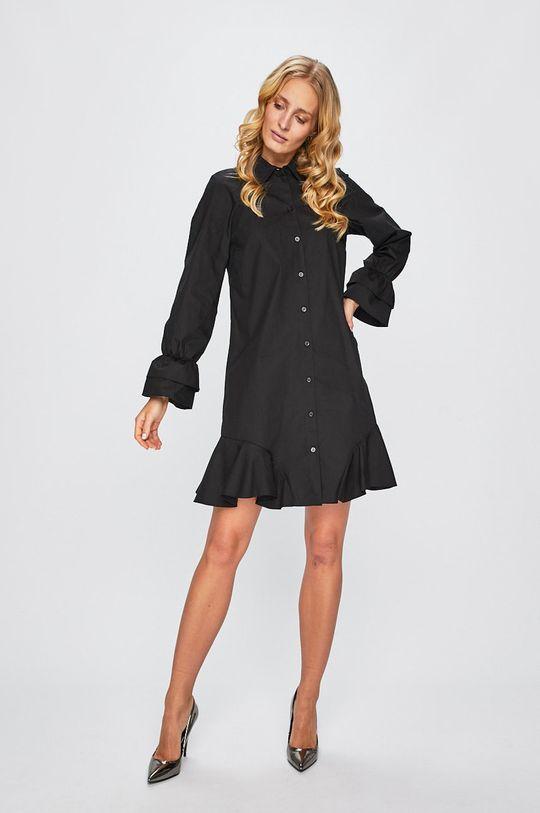 Armani Exchange - Šaty čierna
