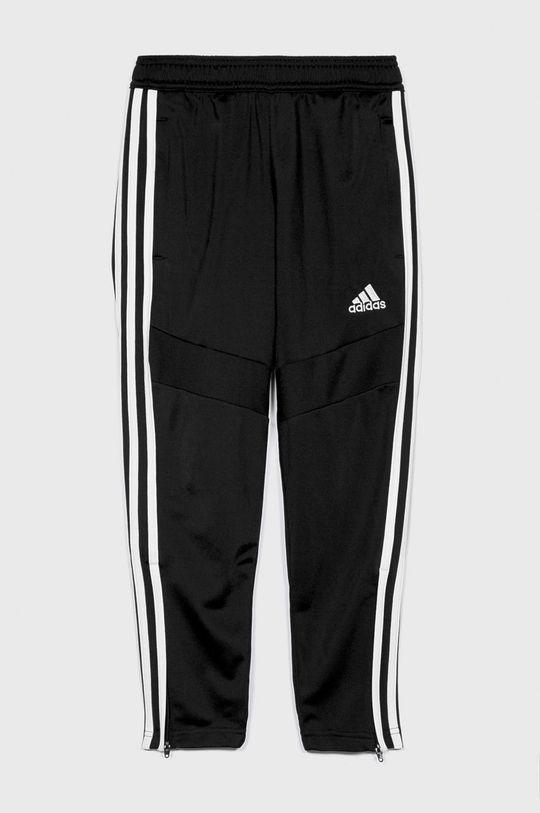 čierna adidas Performance - Detské nohavice 128-176 cm Chlapčenský