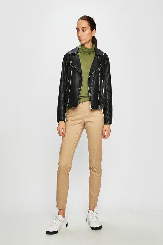 Only - Spodnie piaskowy