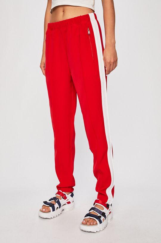 červená Calvin Klein Jeans - Kalhoty Dámský