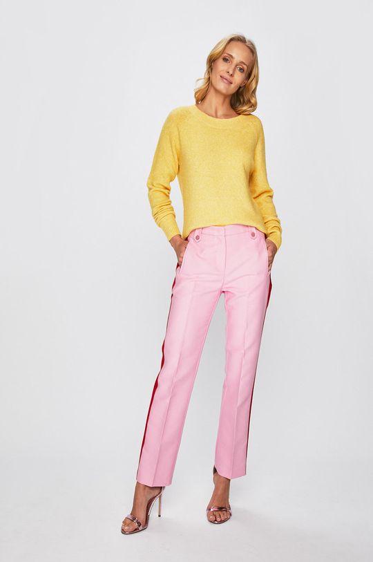 Pinko - Kalhoty růžová