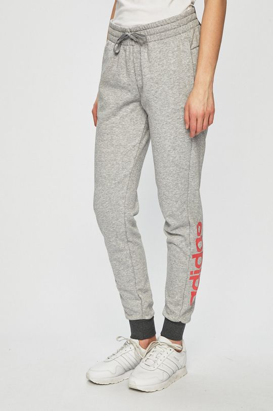 sivá adidas Performance - Športové nohavice Dámsky