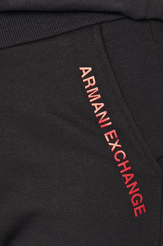 Armani Exchange - Športové nohavice <p>Základná látka: 60% Bavlna, 40% Polyester Prvky: 58% Bavlna, 3% Elastan, 39% Polyester</p>