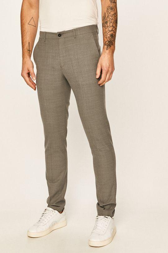 jasny szary Premium by Jack&Jones - Spodnie 12141112 Męski