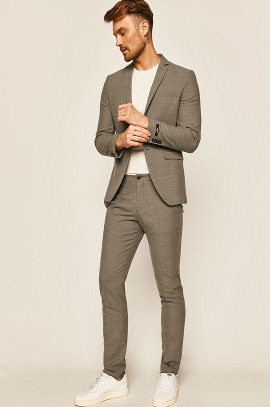 Premium by Jack&Jones - Spodnie 12141112 jasny szary