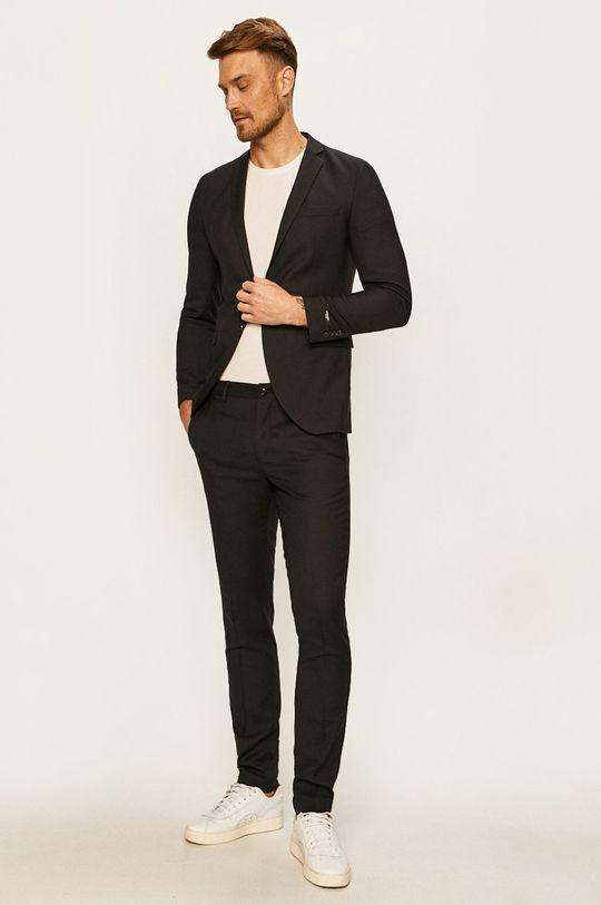 Premium by Jack&Jones - Nohavice čierna