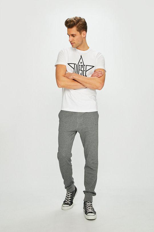 Diesel - Kalhoty šedá