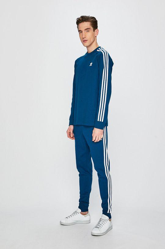 adidas Originals - Nohavice tmavo tyrkysová