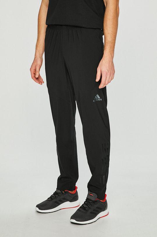 čierna adidas Performance - Nohavice Pánsky
