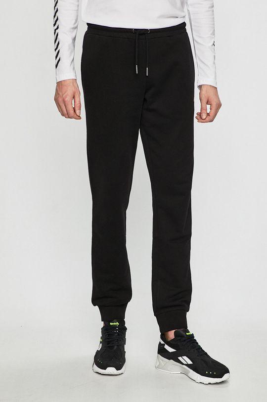 černá Fila - Kalhoty Pánský