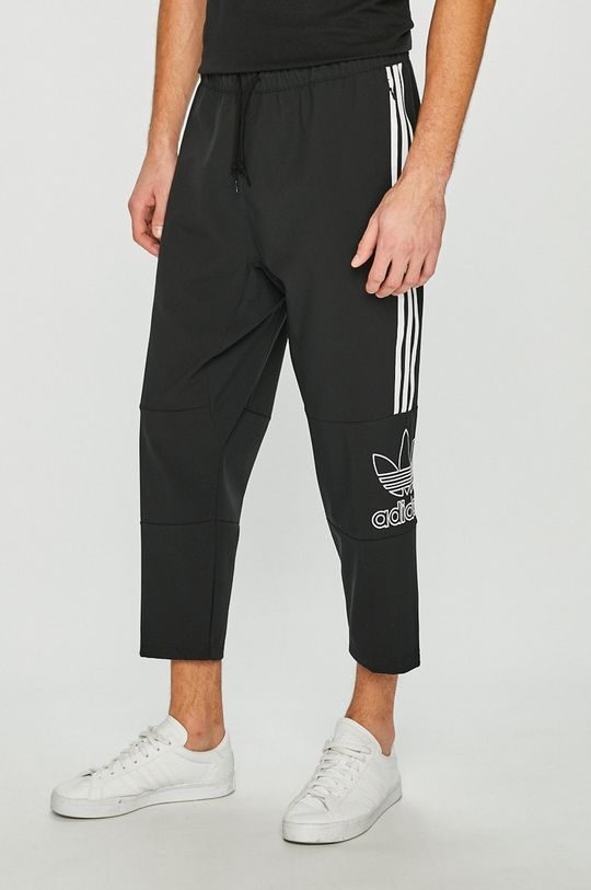 čierna adidas Originals - Nohavice Pánsky
