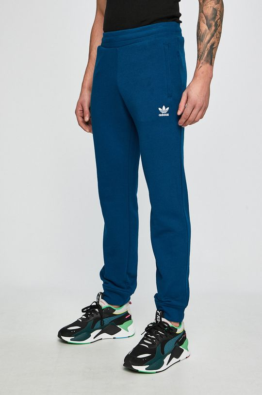 tmavo tyrkysová adidas Originals - Nohavice Pánsky
