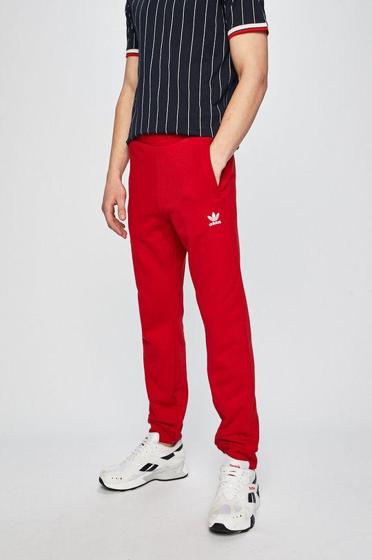 červená adidas Originals - Nohavice Pánsky