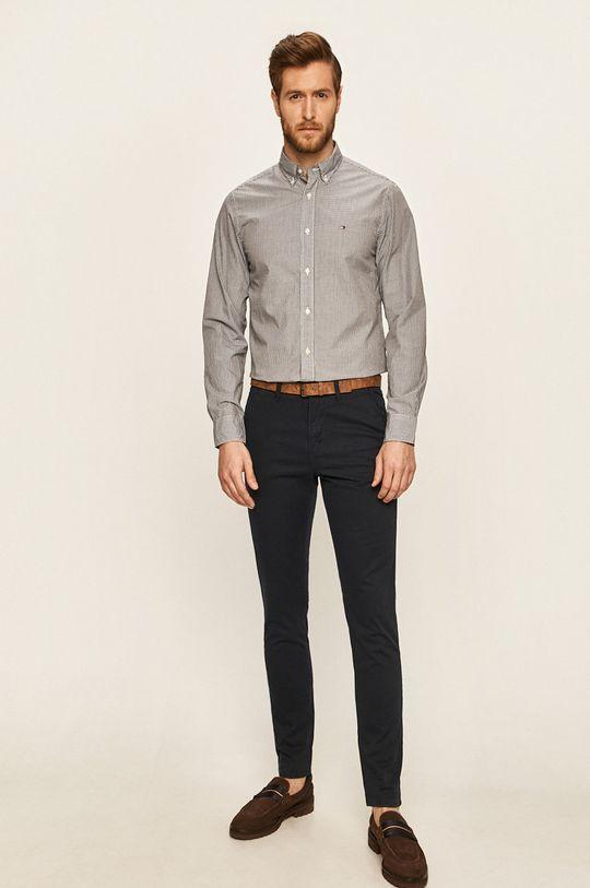 Tom Tailor Denim - Kalhoty námořnická modř