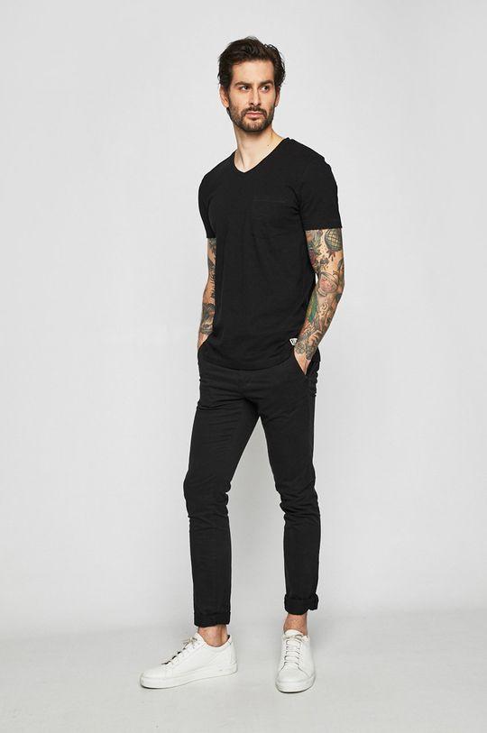 Tom Tailor Denim - Nohavice čierna