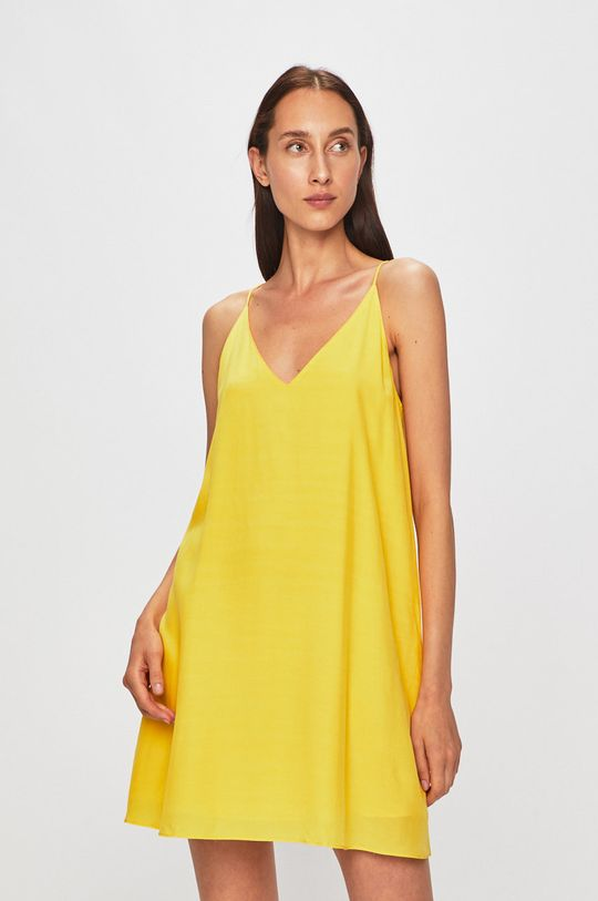 žlutá Calvin Klein Jeans - Šaty Dámský