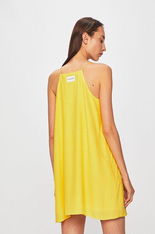 žlutá Calvin Klein Jeans - Šaty