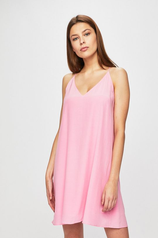 růžová Calvin Klein Jeans - Šaty Dámský