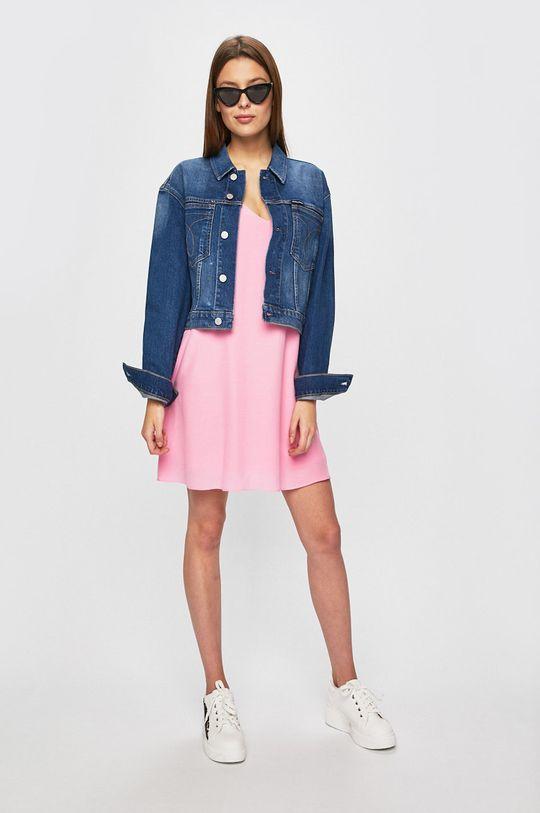 Calvin Klein Jeans - Šaty růžová