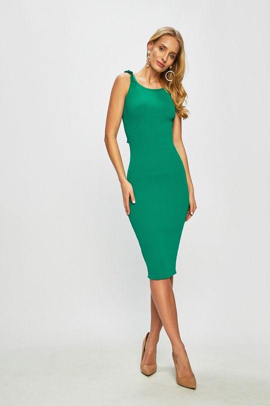 Pinko - Šaty světle zelená