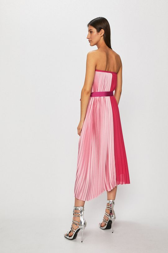 Pinko - Šaty fuchsiová